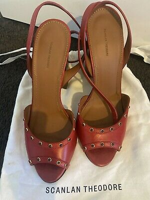 AU25 • Buy Scanlan Theodore Red Shoes  Size 38