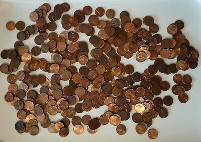 AU14.99 • Buy USA 1kg / 2 Lbs Of Mixed Circulated Memorial & Shield Lincoln 1 Cent Coins