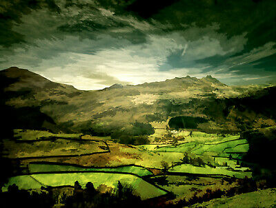 ESKDALE 1 LAKE DISTRICT  Limited Art Print By Sarah Jane Holt • 15£