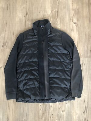 Nike Puffer / Zip Up Track Top Jacket Black Small Mens  • 3£