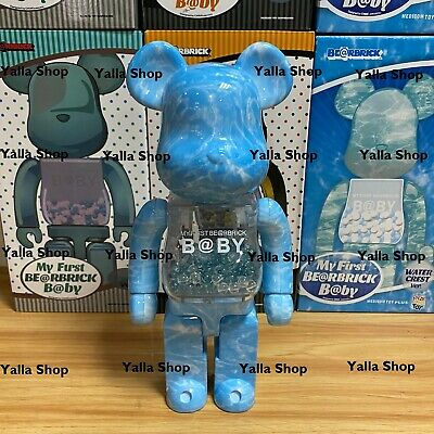 $249.99 • Buy Bearbrick My First Baby Water Crest 400% Be@rbrick Limited Stock Fast Shipping