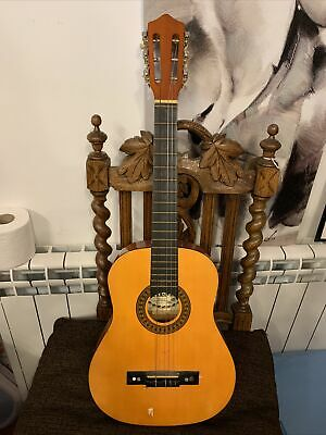 Palma Acoustic Childrens Guitar Pl12 1/2 Size With Case • 28.99£