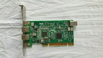 DELL 06D906 FIRESTORM FIREWIRE IEEE 1394 PCI Card Adapter (51007-9000 Expansion) • 3.99£