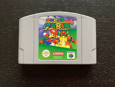 Super Mario 64 For The N64 Nintendo. Tried And Tested, Good Condition, PAL • 10£
