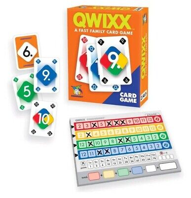 $ CDN12.65 • Buy QWIXX CARD GAME - A Fast Family Card Game By Gamewright BRAND NEW FACTORY SEALED