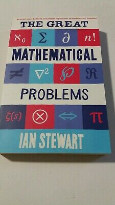 ❤BRAND NEW CHEAPEST❤ The Great Mathematical Problems By Ian Stewart Book ❤LOOK❤ • 10.99£
