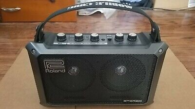 AU195.73 • Buy Roland Mobile Cube Stereo Amplified Battery Powered MB-CUBE Tested Working