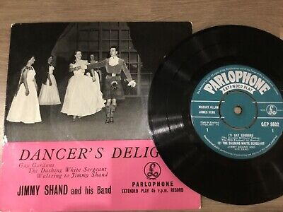 £1.25 • Buy Vinyl Record Single 45 Dancers Delight Jimmy Shand And His Band Ep