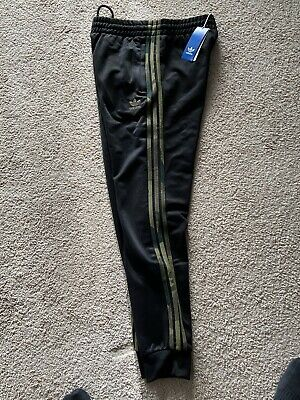 $ CDN87.54 • Buy Adidas Originals Trefoil Camo Pants Black Size Mens Medium  Brand New With Tags
