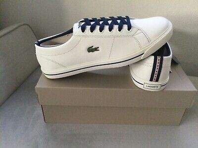 Brand New Mens Boys Lacoste Trainers Sz 5 Classic Shoes Casual Summer Holiday  • 19.99£