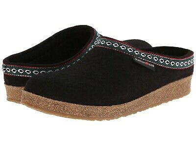 Haflinger GZL Classic Grizzly Black Slippers - NEW - Size EU 41 / US W 10 - M 8 • 65.12£