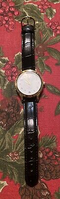 $ CDN22.79 • Buy Qq Quartz Watch Ipg Water Resist Leather Band New Without Tags