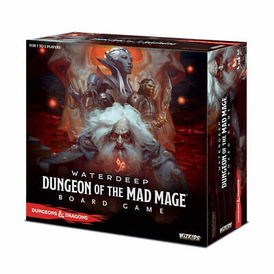 AU117.43 • Buy Dungeons & Dragons: Dungeon Of The Mad Mage Board Game