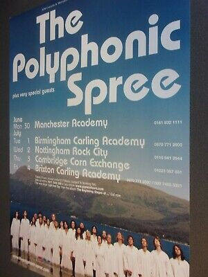 £10 • Buy Original Concert Posters From Manchester University 2000-2013