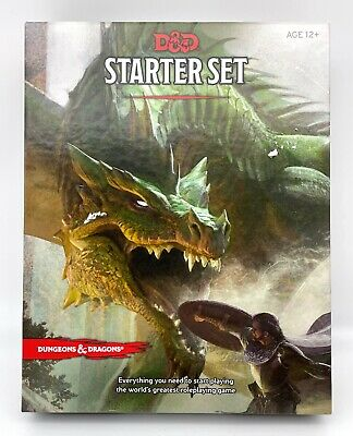 AU12.85 • Buy Dungeons And Dragons Starter Set Roleplaying Fantasy D&D Open Box Complete
