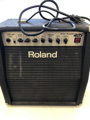 AU251.34 • Buy Roland GC 405 Tube Logic Guitar Amplifier.  Very Hard To Find.