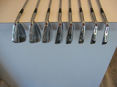 AU174.37 • Buy Wilson Staff FLUID FEEL Tour Blade Iron Set Golf Clubs 3-PW REG Steel Shafts