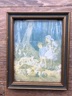 Margaret Tarrant Picture After The Water Colour Drawing The Fairies Market • 20£