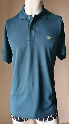 Lacoste Mens Classic Short Sleeve Polo Shirt, Green. Size Large. RRP £85 • 19.99£