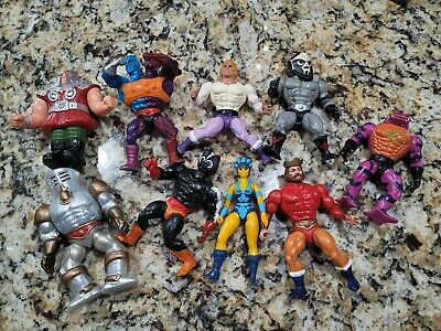 $49 • Buy (X9) Masters Of The Universe 1980's He-man Action Figures *HOT VINTAGE ITEMS*