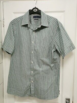 Men's ATLANTIC BAY Short Sleeve Shirt NEW Without Tags Size M • 5£