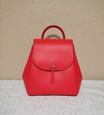 $ CDN144.12 • Buy 🌸NWT KATE SPADE ADEL MEDIUM FLAP BACKPACK TOTE BAG LEATHER Handbag Satchel