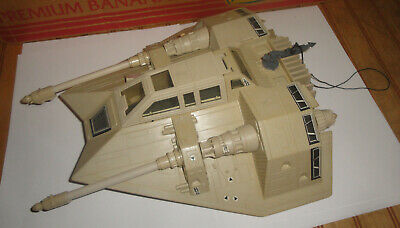 $ CDN120.93 • Buy Vintage 1980 Kenner Star Wars SNOWSPEEDER Vehicle W/Harpoon