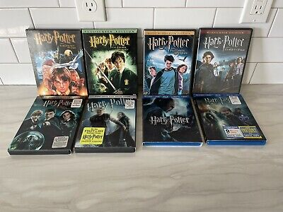 $ CDN31.72 • Buy Harry Potter 1-8 DVD/Blu-ray (see Description) Complete Set (Years 1-7)!