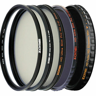 AU17.09 • Buy Zomei Pro 67mm UV Filter CPL Filter ND Filter  HD Filter For Camera Lens