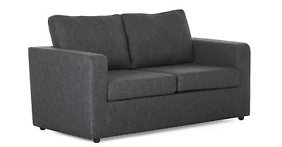 £399 • Buy Grey Sofa Bed - 2 Seater Fabric Sofa Bed - FREE NEXT DAY DELIVERY
