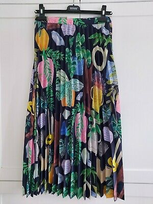 AU95 • Buy Gorman Leafy Library Skirt - Size 10 (as New)