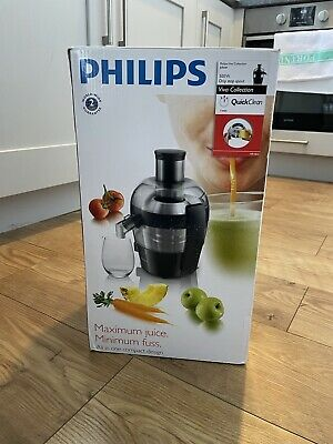 NEW IN BOX Philips Hr1832 Viva Collection Compact Juicer 1.5l 500w Black • 22.06£