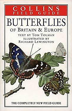 £9.14 • Buy Collins Field Guide : Butterflies Of Britain And Europe Hardcover Tom W. Tolman