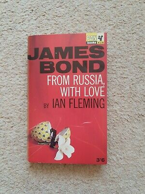 James Bond : From Russia, With Love - Ian Fleming - Pan Books PB (1965) 19th  • 6£