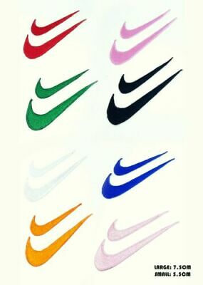 £1.99 • Buy Nike Sports Just Do It Clothes T Shirts Embroidered Iron Sew On Patch Logo Set