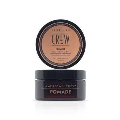 £7.65 • Buy American Crew Hair Pomade For Men Medium Hold With High Shine Styling 50 G *UK*