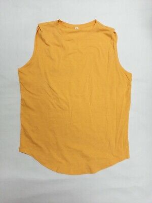 $ CDN19.90 • Buy Lululemon Women's Workout Athletic Yoga Top Shirt Yellow Size 10 +GREAT COND.+