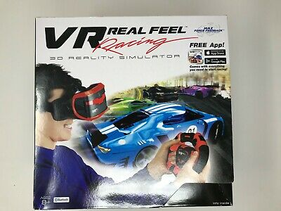 NEW VR Real Feel Racing Headset - Bluetooth - 3D Reality Simulator • 13.55£