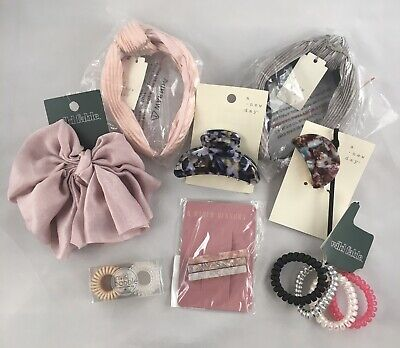 $ CDN34.16 • Buy Fashion Hair Accessories Lot Headbands Clips Coil Ties Invisibobble, Wild Fable