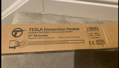 """Tesla Incoloy Immersion Heater Element 27"""" • 19.99£"""
