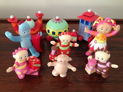 In The Night Garden Toy Figures Inc. Iggle Piggle & Upsy Daisy • 2£