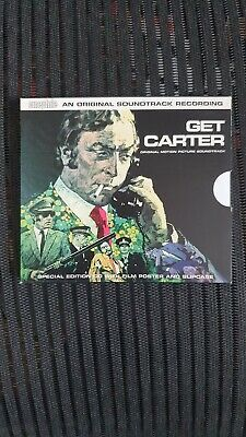 Get Carter Soundtrack CD Slip Case And Poster CINCD001 Excellent • 7.95£