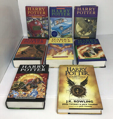 $ CDN249.95 • Buy Harry Potter Complete Set Hard Cover Books Lot Of 8 Bloomsbury Raincoast W/ DJ
