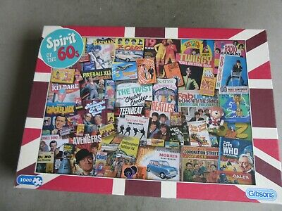 1000 Piece Jigsaw Puzzle - Spirit Of The 60s • 8.50£