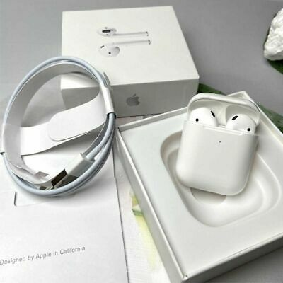 $ CDN52.51 • Buy Apple AirPods 2nd Generation W/Wireless Charging Case Bluetooth White Headphones