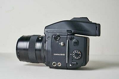 $ CDN3.04 • Buy Contax 645, F2 80mm, Prism Finder And 120 Film Back. Mint Condition.