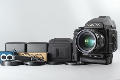 $ CDN3.04 • Buy [TOP MINT!] Contax 645 +MP-1 +Planar 80mm F 2,MFB-1 X2 And More From Japan #551