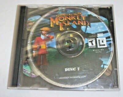 £7.05 • Buy ESCAPE FROM MONKEY ISLAND - 2 DISC SET Windows / PC Game