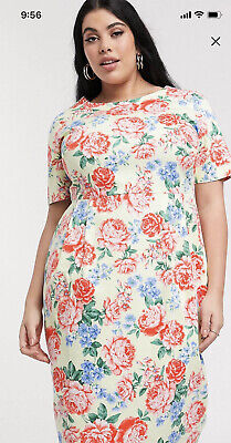 AU15.50 • Buy New With Tags ASOS Design Curve Wiggle Dress UK22