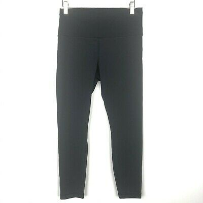 $ CDN101.26 • Buy Lululemon Size 10 Wunder Under High Rise 25  Leggings Black  New